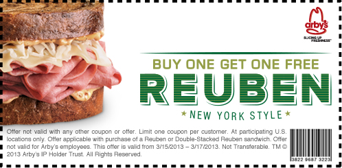 Arby's coupon 3