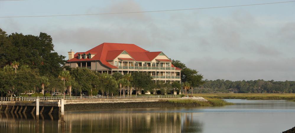 Ocean front lodging header