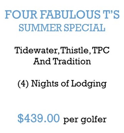 Four Fabulous ts summer special